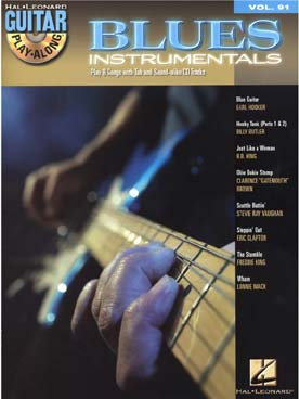 GUITAR PLAY ALONG VOL 91 BLUES INSTR