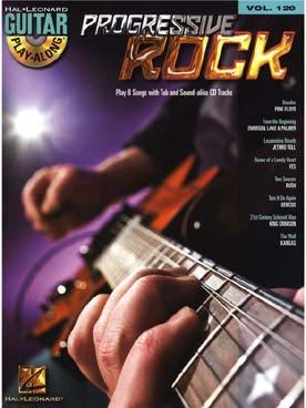 GUITAR PLAY ALONG VOL 120 PROGRESSIVE