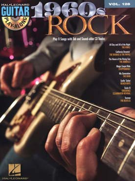 GUITAR PLAY ALONG VOL 128 1960S ROCK