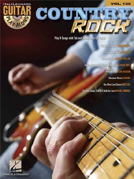 GUITAR PLAY ALONG VOL 132 COUNTRY ROCK