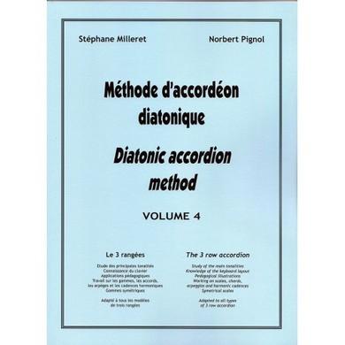 METHODE D\'ACCORDEON DIATONIQUE VOL 4