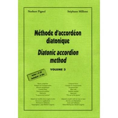 METHODE D\'ACCORDEON DIATONIQUE VOL 3