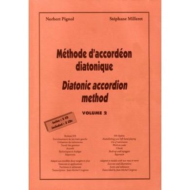METHODE D\'ACCORDEON DIATONIQUE VOL 2