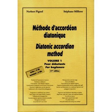 METHODE D\'ACCORDEON DIATONIQUE VOL 1