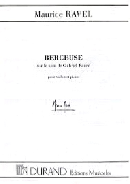 BERCEUSE SUR LE NOM DE FAURE