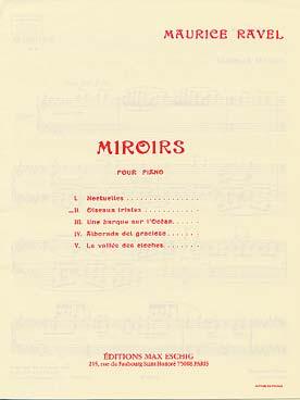MIROIRS 2  OISEAUX TRISTES