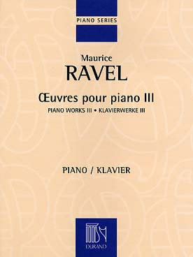 OEUVRES POUR PIANO VOL 3