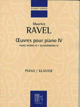 OEUVRES POUR PIANO VOL 4