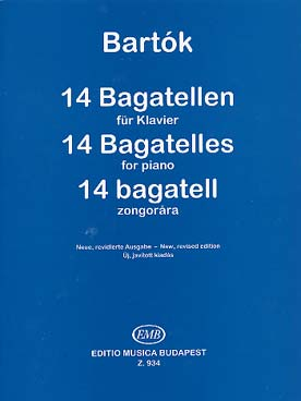 BAGATELLES OP 6