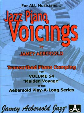 AEBERSOLD JAZZ PIANO VOICINGS