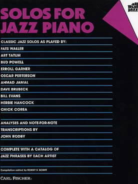 ALL THAT JAZZ SOLOS FOR JAZZ PIANO