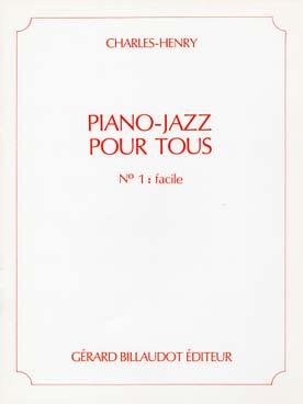 PIANO-JAZZ POUR TOUS VOL 1