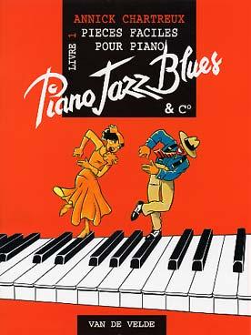 CHARTREUX PIANO JAZZ BLUES VOL 1