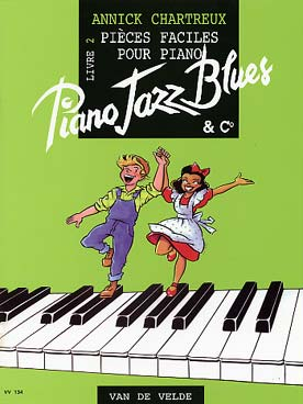 CHARTREUX PIANO JAZZ BLUES VOL 2