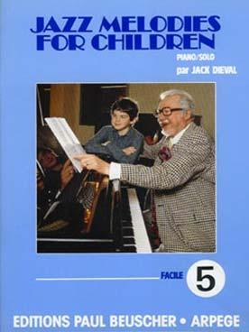 JAZZ MELODIES FOR CHILDREN VOL 5