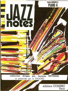 JAZZ NOTES PIANO VOL 4