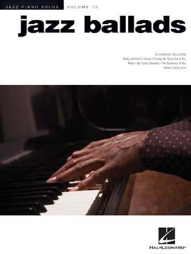 JAZZ PIANO SOLOS VOL 10