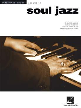 JAZZ PIANO SOLOS VOL 11