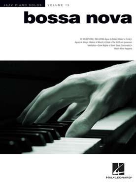 JAZZ PIANO SOLOS VOL 15