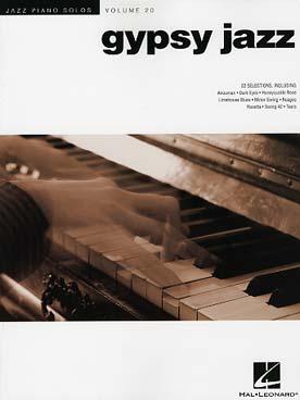 JAZZ PIANO SOLOS VOL 20