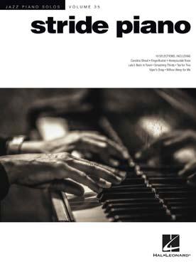 JAZZ PIANO SOLOS VOL 35