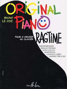 ORIGINAL PIANO RAGTIME
