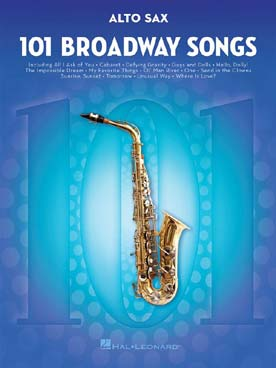 BROADWAY SONGS FOR SAXOPHONE