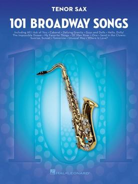 BROADWAY SONGS SAXOPHONE TENOR