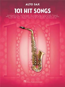 101 HIT SONGS FOR SAXOPHONE