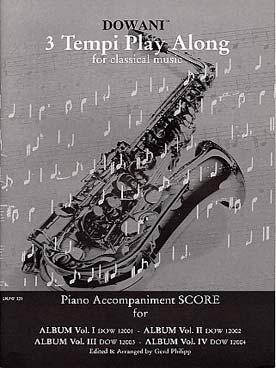 ALBUM SAXOPHONE ACC PIANO