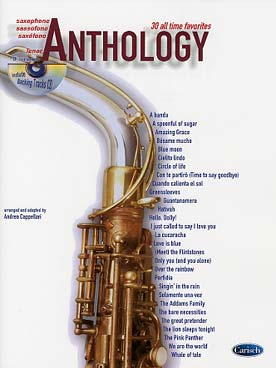 ANTHOLOGY SAXO TENOR
