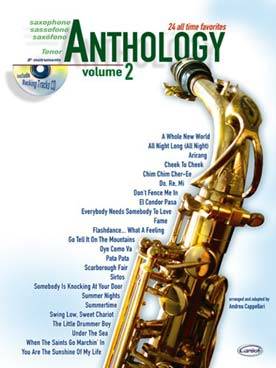ANTHOLOGY SAXO TENOR VOL 2