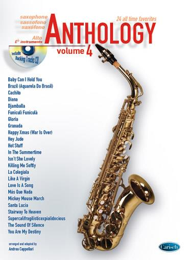 ANTHOLOGY SAXO ALTO VOL 4