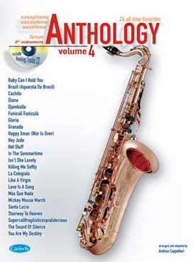 ANTHOLOGY SAXO TENOR VOL 4