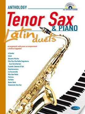 ANTHOLOGY LATIN DUETS SAXO TENOR
