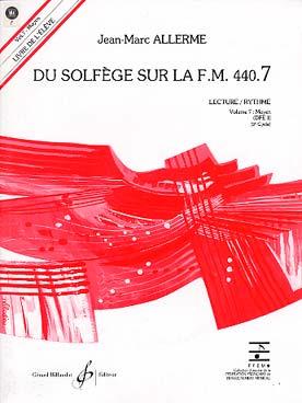 DU SOLFEGE SUR LA FM VOL 7 LEC RYTH ELEVE + CD