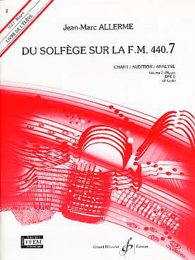 DU SOLFEGE SUR LA FM VOL 7 CHANT ELEVE