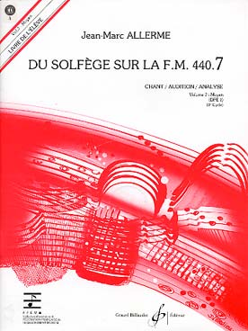 DU SOLFEGE SUR LA FM VOL 7 CHANT ELEVE + CD