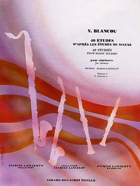 BLANCOU LANCELOT 40 ETUDES VOL 2