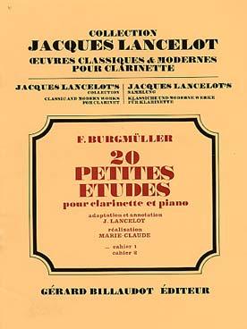 BURGMULLER PETITES ETUDES