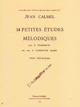 CALMEL 14 PETITES ETUDES