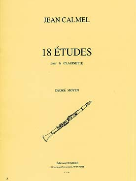 CALMEL 18 ETUDES