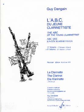 ABC DU JEUNE CLARINETTISTE VOL 2