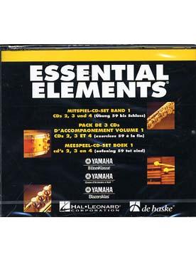 ESSENTIAL ELEMENTS PACK 3 CD VOL 1
