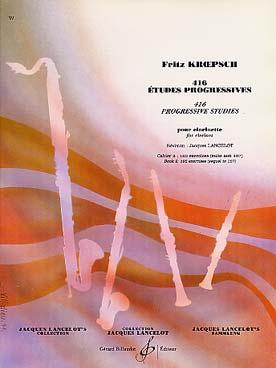 KROEPSCH 416 ETUDES PROGRESSIVES VOL 2