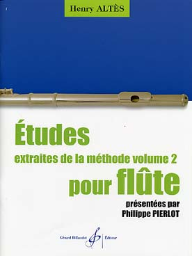 ALTES ETUDES EXTRAITES DE LA METHODE VOL 2
