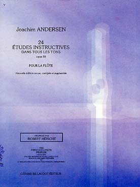 ANDERSEN 24 ETUDES INSTRUCTIVES OP 30