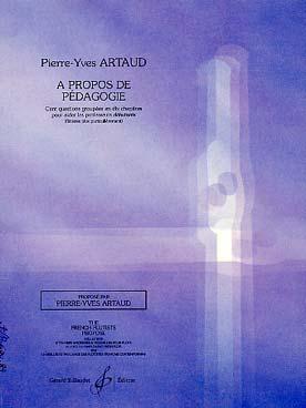 ARTAUD A PROPOS DE PEDAGOGIE