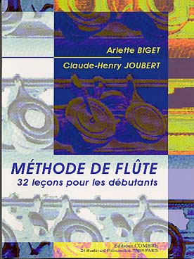 BIGET JOUBERT METHODE DE FLUTE VOL 1