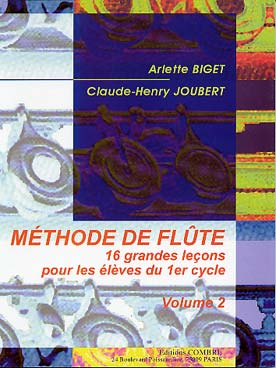 BIGET JOUBERT METHODE DE FLUTE VOL 2
